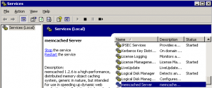 Memcached-Windows-Service