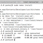 install memcached server on mac os and linux