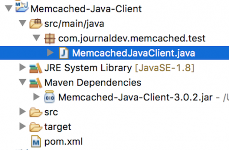 memcached java example, memcached client