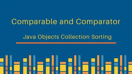comparable and comparator, comparable vs comparator, comparable and comparator in java