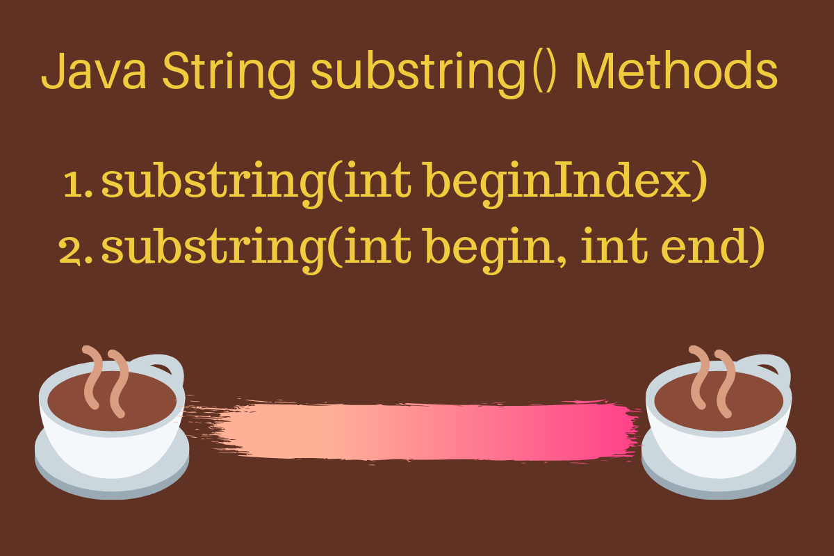 Java Substring Method
