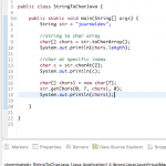 String to char array java – convert string to char