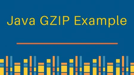 GZIP, Java GZIP Example