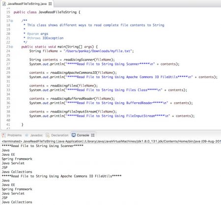 java read file to string