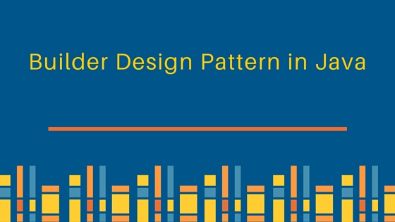 Builder Design Pattern in Java - JournalDev