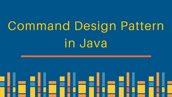 command design pattern, command pattern