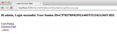 HttpSession Session in Java Servlet web application