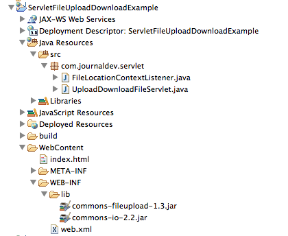 Servlet Upload File and Download File Example - JournalDev