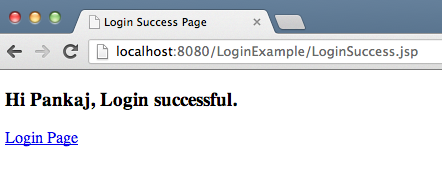 servlet-login-success