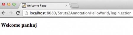 Struts-Hello-World-Annotation-home