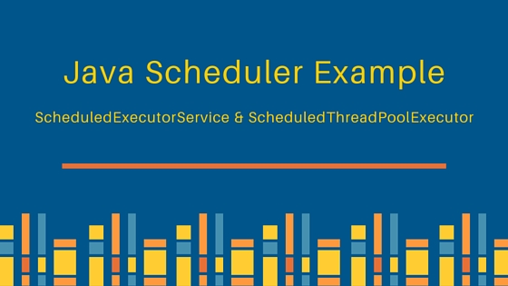 Java scheduler scheduledexecutorservice for Thread pool design pattern java