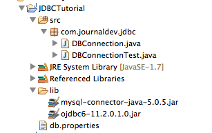 JDBC Example Project