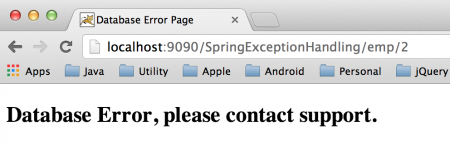 Spring MVC Exception Handling, Spring Exception Handling, ControllerAdvice, ExceptionHandler