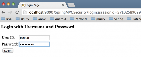 spring authentication login, spring mvc security, spring security