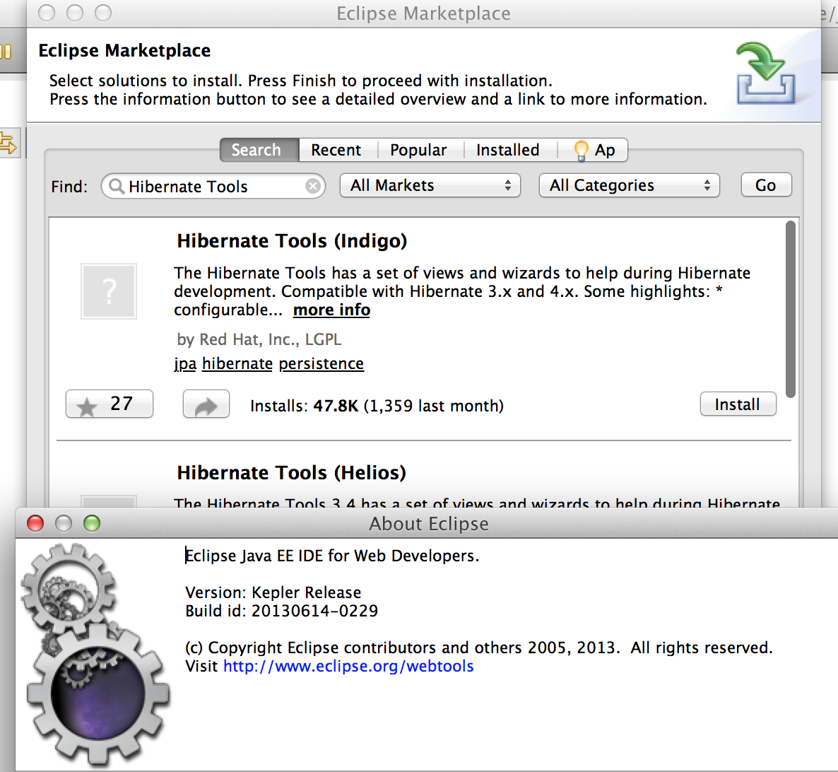 hibernate tools eclipse