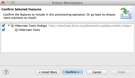 Install Hibernate Tools Eclipse Plugin