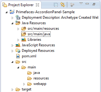 Final Project View - Eclipse IDE
