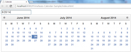 Calendar - Default View - Pages Demo