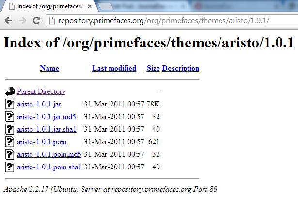 Primefaces Themes - Primefaces Aristo Theme - Download Last Version