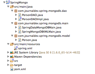 Spring Data MongoDB Example - JournalDev