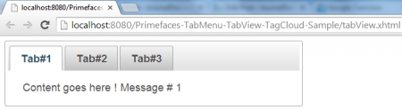 TabView - Simple Example - Tab1