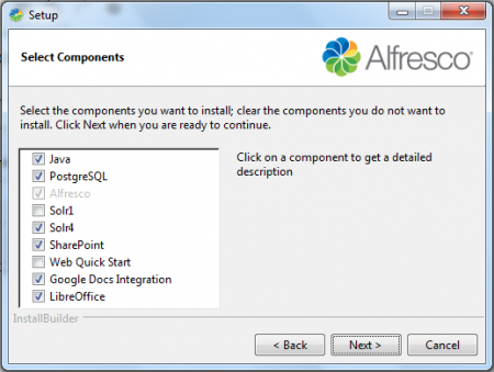 Alfresco - Advanced Setup