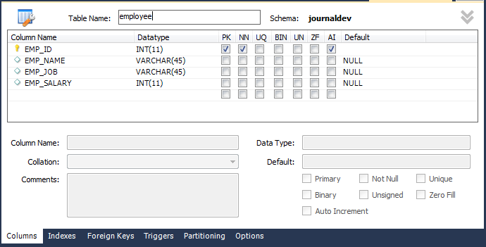 Developing Portlets With JSP Servlet JournalDev – Employee Registration Form