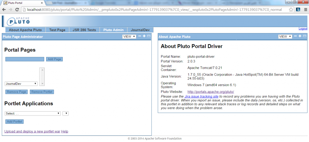 JournalDev Page Created