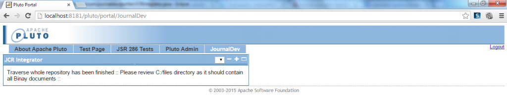 Traverse Whole Repository Contents