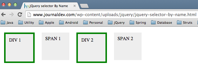 how to show div id in jquery
