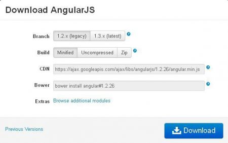 angularjs hello world example