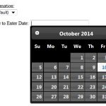 jQueryUI Datepicker Plugin for all your Calendar Requirements