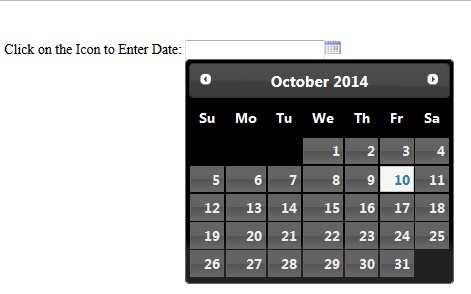 jQueryUI Datepicker Plugin for all your Calendar