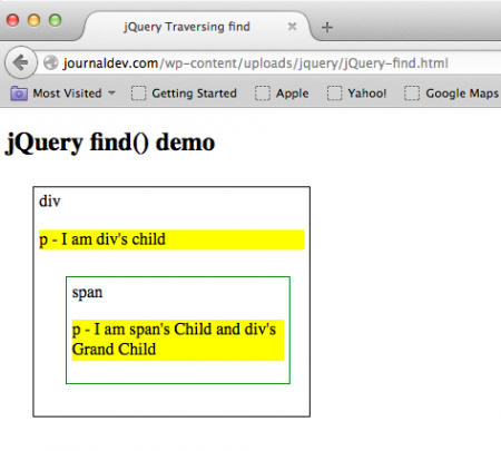 jquery-find-example