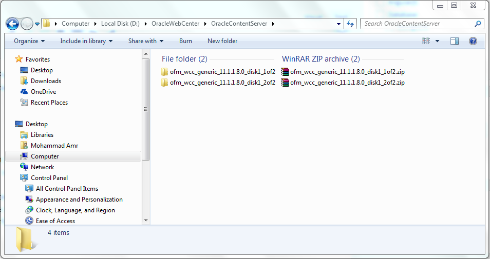 Installing Oracle WebCenter Content 11.1.1.8.0 & Integrating It With Oracle WebCenter Portal 11.1.1.8.0