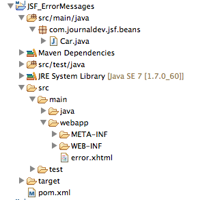 JSF_ErrorMessages_Project