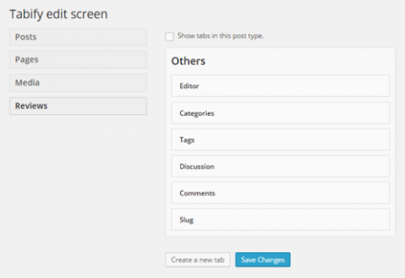 tabify-edit-screen-wordpress-plugin-edit-screen