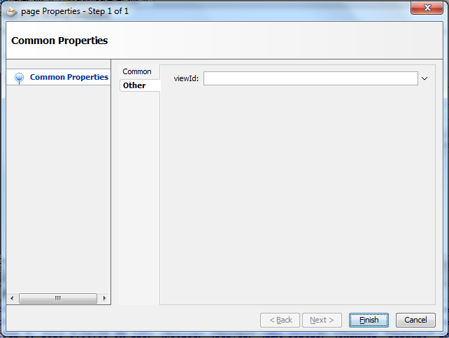 About Page Definition - Created Variable - Edit Properties Dialog