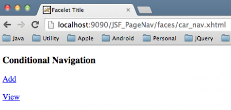 JSF-Page-Navigation-Conditional
