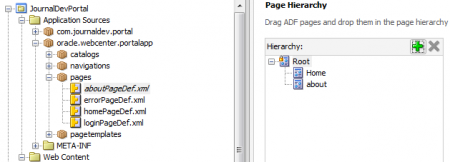 Page Hierarchy - Add About Into Page Hierarchy