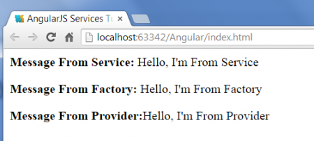 AngularJS Services example