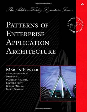 Patterns of Enterprise Application Architecture Book, Design Patterns Book, Best Design Patterns Book