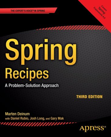 Spring Recipes Book, Spring 4 Book, Best Spring Book, Java Spring Book
