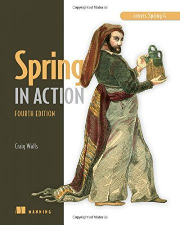 Spring in Action Book, Java Spring Books, Spring 4 Book