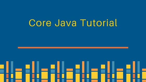 core java tutorial