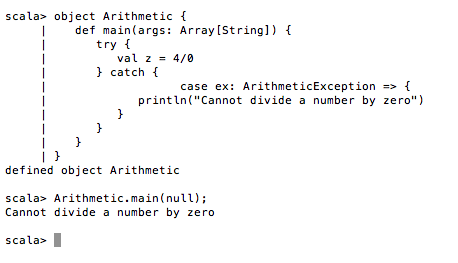 Exception handling in java notes.