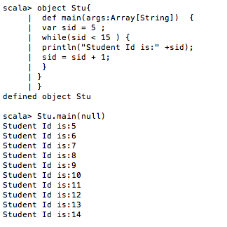 Scala-while-loop