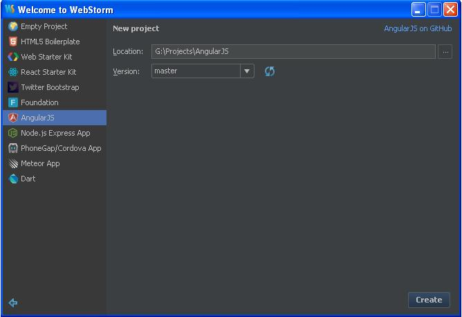 AngularJS Introduction to JetBrains WebStorm - JournalDev