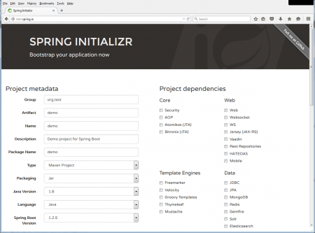 springboot-initilizr-homepage1