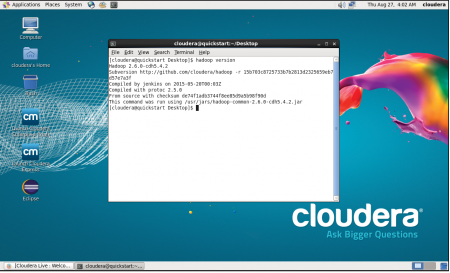cloudera-hadoop-version